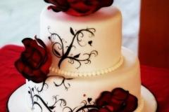 ELE-31-wht-redrose-wed-cake